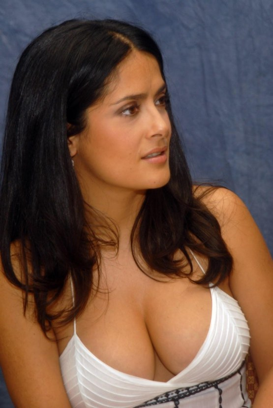 Salma Hayek The Boob Collection