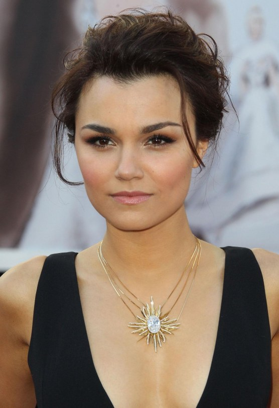 Samantha Barks At Th Annual Academy Awards At The Dolby Theatre In Hollywood Hot