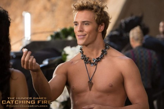 The Hunger Games Catching Fire Sam Claflin Hunger Games