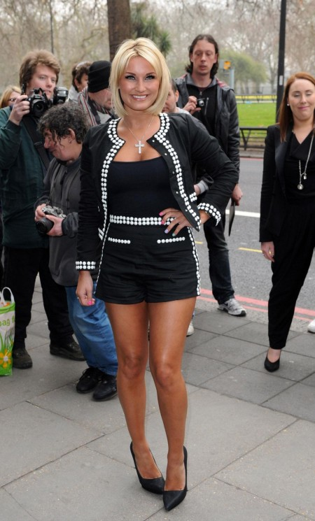 Sam Faiers At Tric Awards At The Grosvenor House Hotel In London