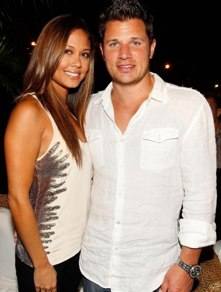 Nick Lachey Vanessa Minnillo Party With Maxim Girlfriend