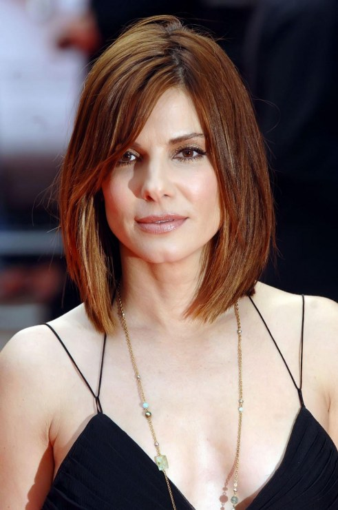 Sandra Bullock Actress Film Movies Oscar Pics Images Photos Heroine Hairstyle