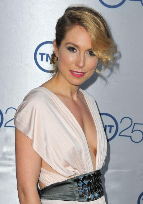 Sarah Carter At Tnt Th Anniversary Party In Beverly Hills Esquire