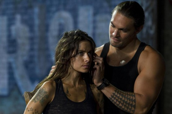 Picture Of Jason Momoa And Sarah Shahi In Bullet To The Head Large Picture Bullet To The Head