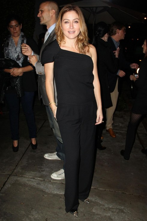 Sasha Alexander At Hfpa And Instyle Miss Golden Globe Party In Los Angeles
