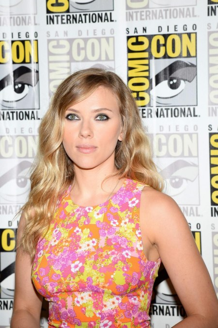 Scarlett Johansson At Comic Con