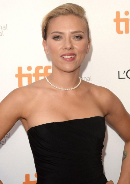 Scarlett Johansson At Don Jon Premiere At Tiff In Toronto