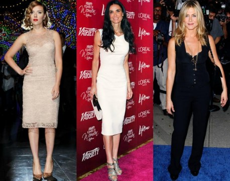 Scarlett Johansson Demi Moore Jennifer Anniston Petite Celebrities Bella Petite Fashion