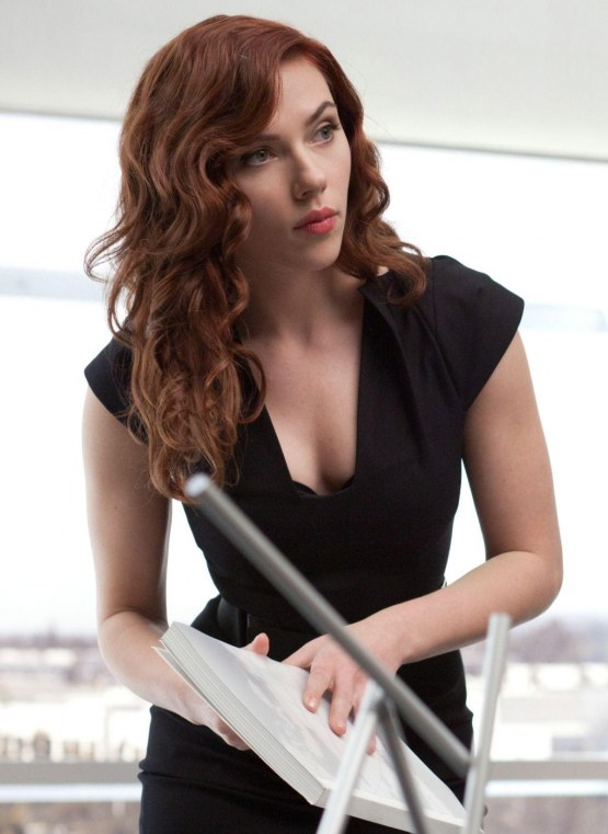 Scarlett Johansson Red Hair Color Red Hair