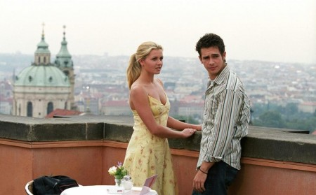 Still Of Jessica Boehrs And Scott Mechlowicz In Eurotrip Large Picture