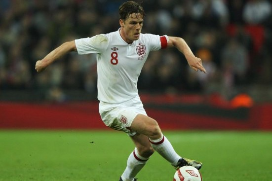 London England February Scott Parker Of England In Action During The International