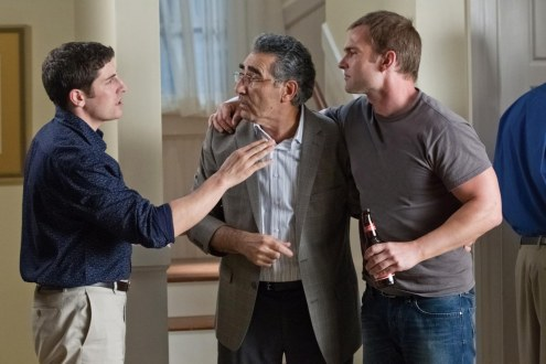 American Reunion Jason Biggs Eugene Levy Seann William Scott Beard