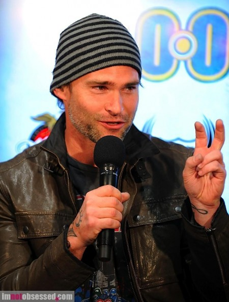 Liev Schreiber And Seann William Scott Promote Movie In Toronto