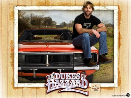 Seann William Scott In The Dukes Of Hazzard Wallpaper