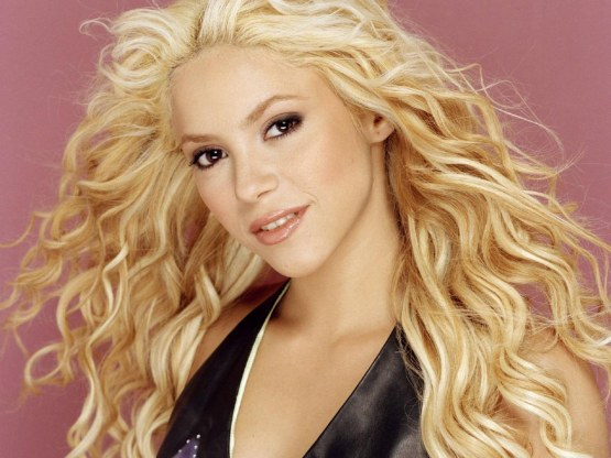 Shakira Blonde Hair Color Wallpapers