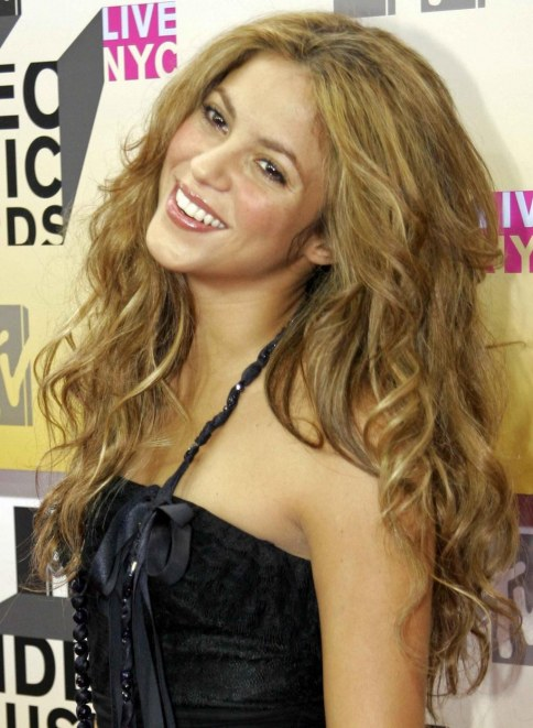 Shakira Mtv Video Music Awards Black Dress Shakira Mtv Video Music Awards Music