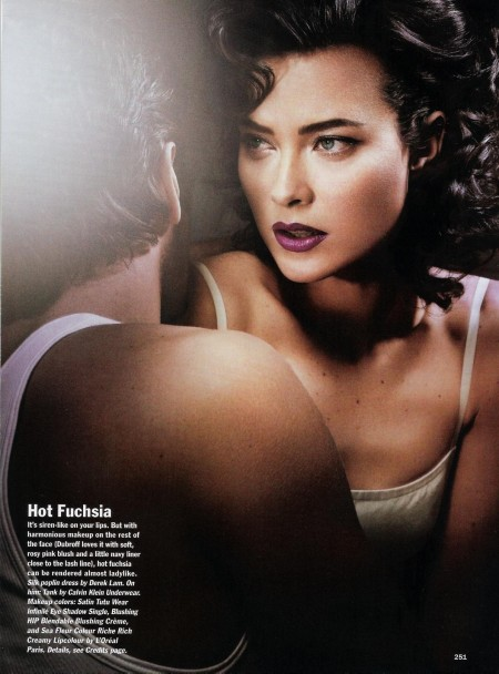 Shalom Harlow For Allure May