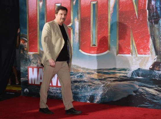 Shane Black At Event Of Iron Man Omul De Otel Large Picture