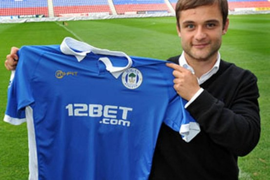 Shaun Maloney Wigan Image