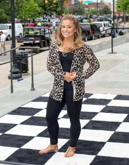 Shawn Johnson Ipl Festival Parade In Indianapolis