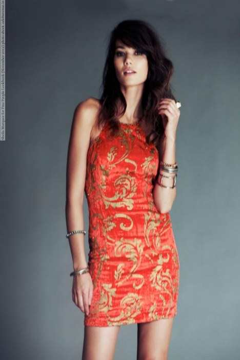 Sheila Marquez For Free People Lookbook November Photo Shoot