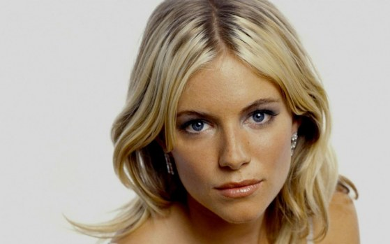 Sienna Miller Closeup Wallpaper Wide Wallpaper