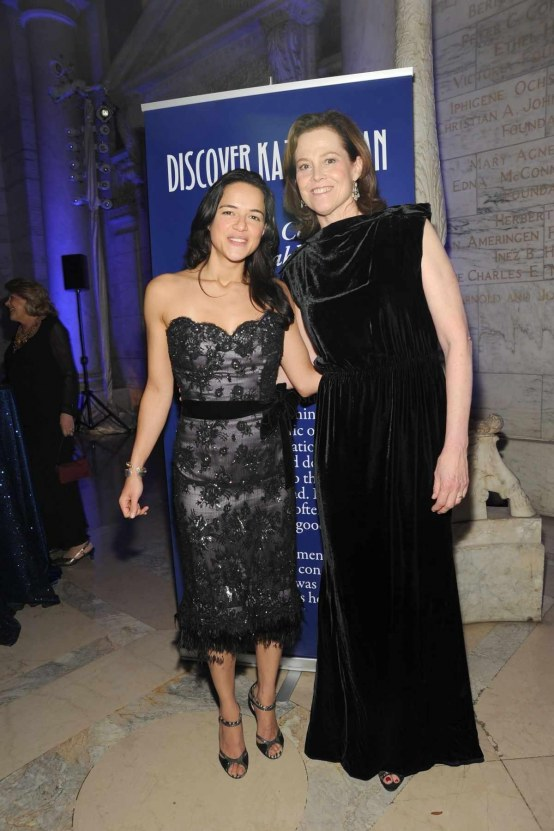 Michelle Rodriguez And Sigourney Weaver Photo Credit Patrick Mcmullan Fashion