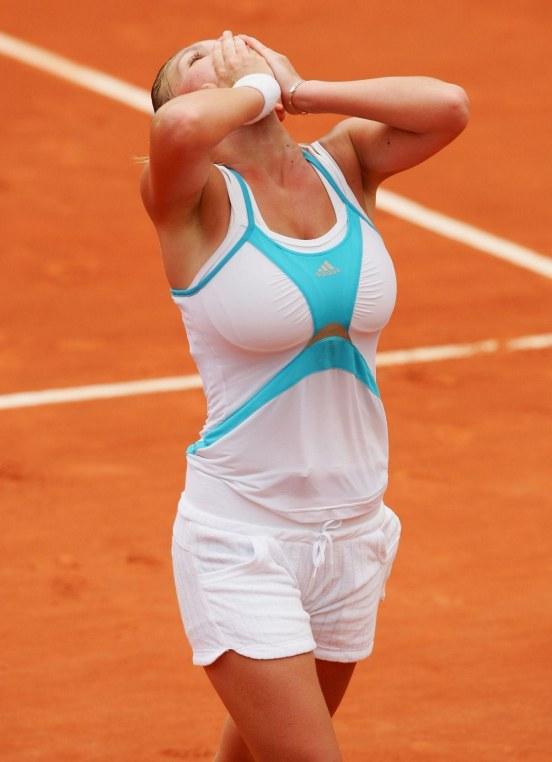 Simona Halep Massive Chest Tennis Player Znztgu Fs After