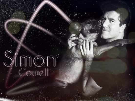 Simon Cowell Black And White Wallpaper By Mhawnick Wallpaper
