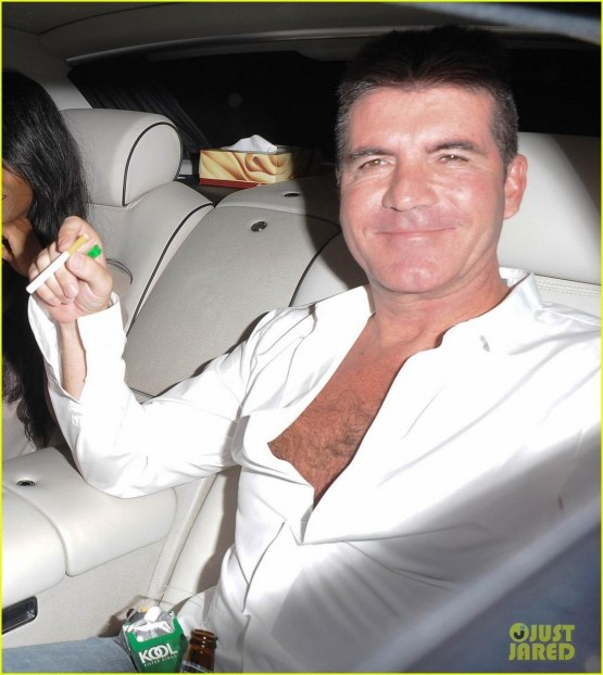 Simon Cowell Egged During Americas Got Talent Finale