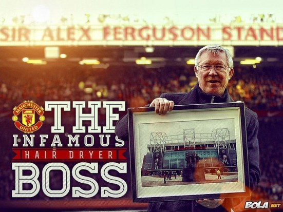Sir Alex Ferguson Big Boss United