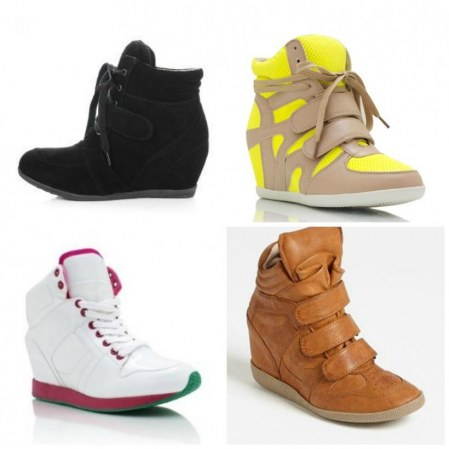 Wedge Sneakers Fashion