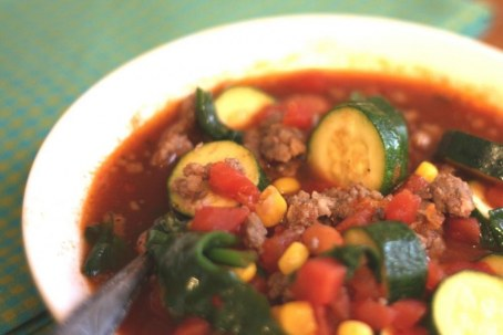 Spicy Mexican Sausage And Vegetable Soup Vegetable