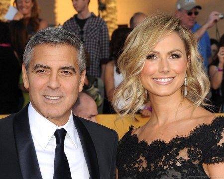 George Clooney And Stacy Keibler Together George Clooney