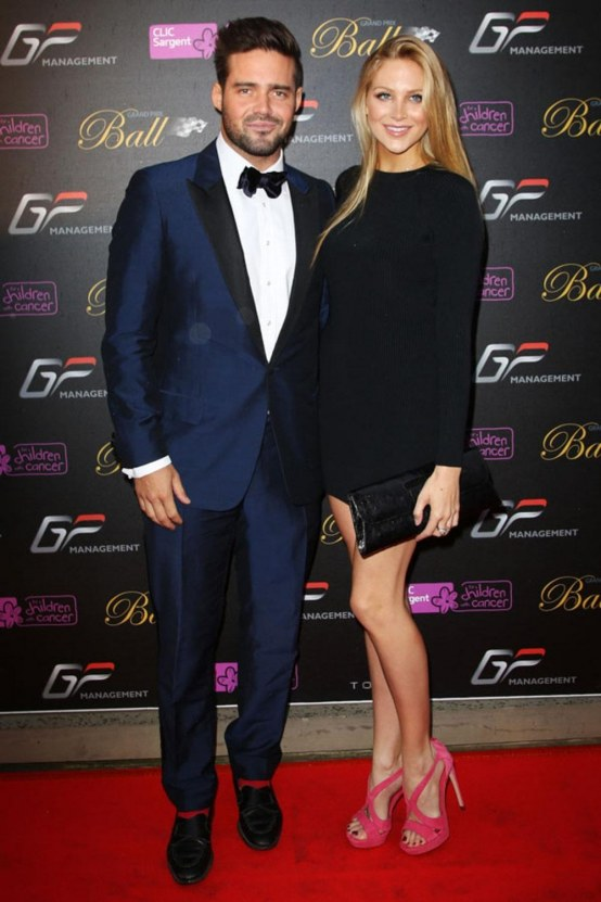 Spencer Matthews And Stephanie Pratt And Spencer