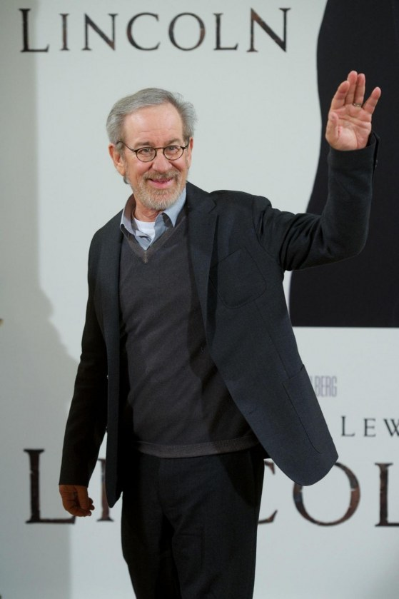 Steven Spielberg In Lincoln Large Picture Body