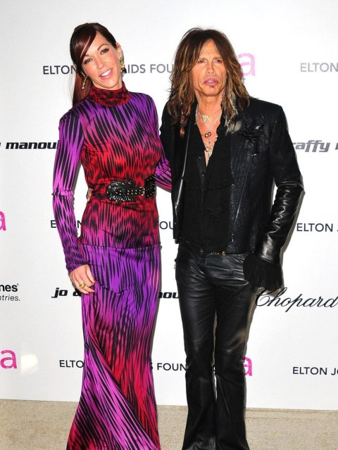 Steven Tyler Purple And Red Be Clothes