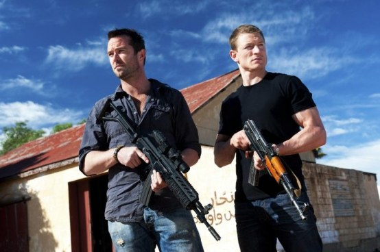 Sullivan Stapleton And Philip Winchester In Strike Back