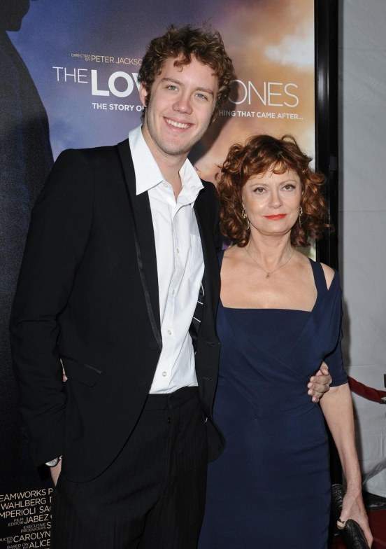 Susan Sarandon Son Jack Strike Pose
