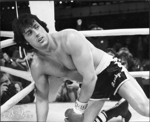 Still Of Sylvester Stallone In Rocky Ii Rocky
