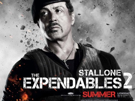 Sylvester Stallone In Expendables Movie