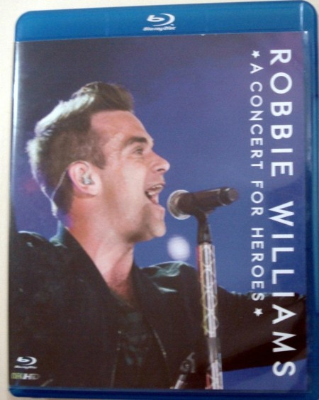 Blu Ray Robbie Williams Take That Concert For Heroes Mlb Robbie Williams