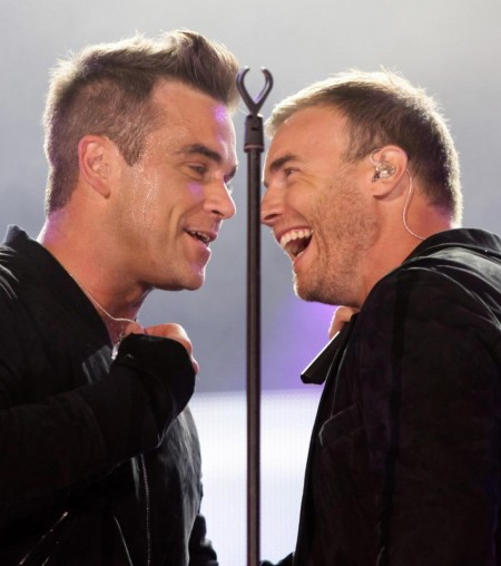 Robbie Williams Gary Barlow Sept Gary Barlow
