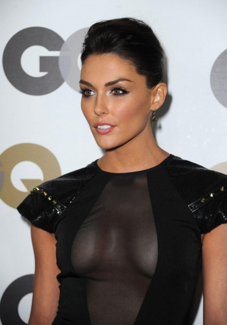 Taylor Cole Wearing Revealing See Through Dress Attends Gq Men Of The Year Party Www Gutteruncensored Com