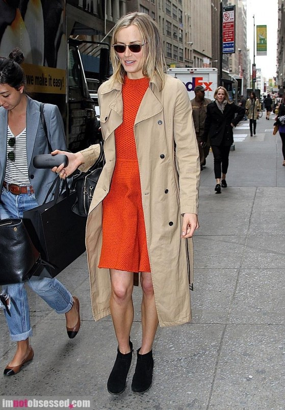 Taylor Schilling Steps Out In Nyc