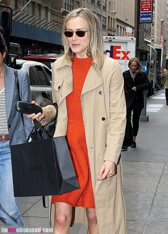 Taylor Schilling Steps Out In Nyc Legs