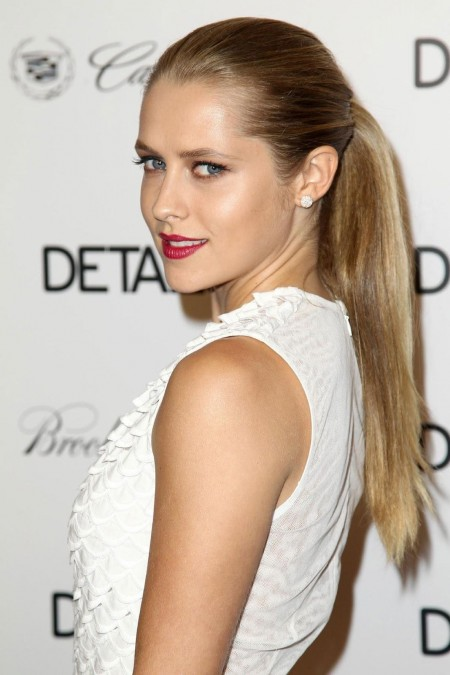Teresa Palmer At Details Hollywood Mavericks Party In Hollywood