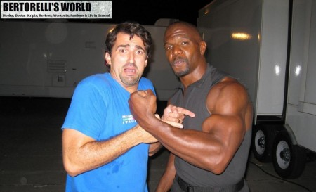 Terry Crews Daniel Bertorelli Expendables Bertorelli World