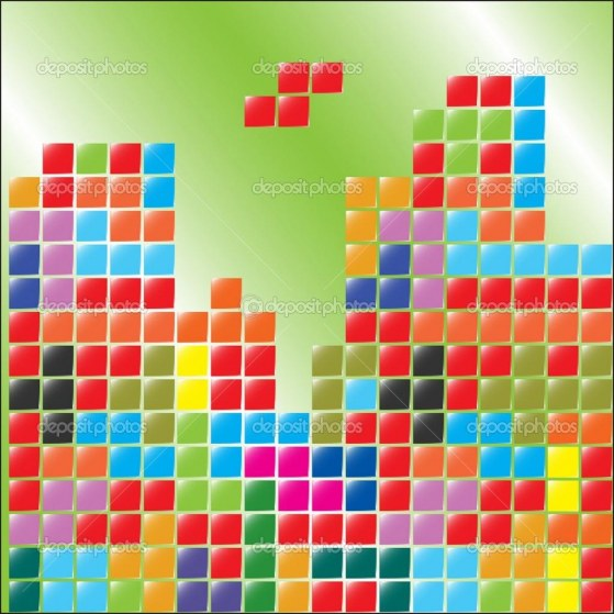 Depositphotos Color Blocks Tetris Blocks