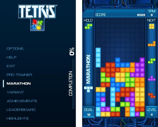 Tetris Screens